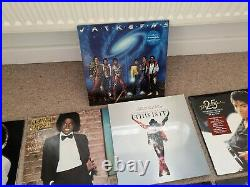 Rare Michael Jackson Vinyl Collection. 14 vinyls. Some vintage, some brand new