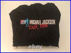 Rare Michael jackson Bad Tour Crew Jacket