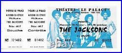 Rare / Ticket Billet Concert The Jacksons Michael Jackson Live A Paris 1979