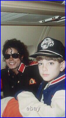Rare Vintage Michael Jackson Thriller Jean Jacket Large USA TYCA Embossed Denim