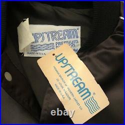 Rare Vintage UPSTREAM Jackson 5 World Tour 1984 Pepsi Satin Jacket 80s Michael S