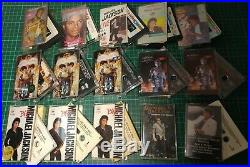 Rare-lot Of 15pcs-michael Jackson Malaysia Singapore Unique Cassette Tour-not Lp