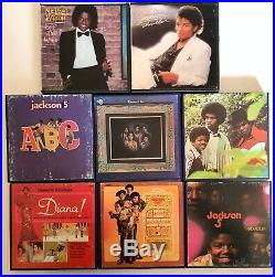 Reel To Reel Tape Michael Jackson / Jackson 5 Official Collection Rare