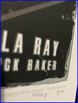 Rhys Cooper Michael Jackson Thriller Signed By Rick Baker Poster Print RARE