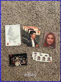Supreme Stickers Lot Box Logo Scarface Michael Jackson Rare 100% Authentic