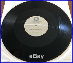 THE JACKSONS Working Day And Night RARE 12 ACETATE PROMO Michael Jackson