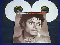 The Essential Michael Jackson (2005) Epic EPC 520422 1 UK vinyl vg+ rare 2LP