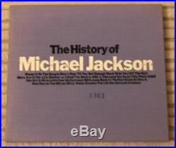 The History Of Michael Jackson Very rare Japan Promo Cd