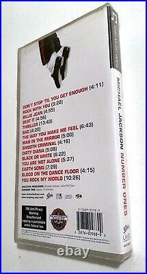 Ultra Rare Limited Edition! Umd Still Sealed! Number Ones Michael Jackson