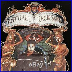 Vintage 1992 Michael Jackson Dangerous World Tour T Shirt Size XL Rare Bootleg
