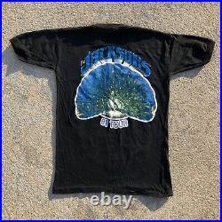 Vintage Jackson 5 1981 Triumph Tour Shirt 80s Michael Jackson Band Tee RARE