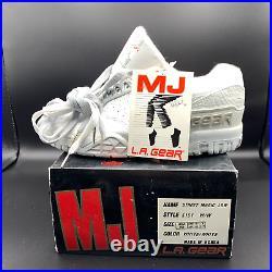 Vintage MICHAEL JACKSON White LA Gear RARE Street Magic Low Youth