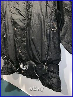 Vintage Michael Jackson Crew Jacket 1988 Bad Tour Rare 80s Sz Large