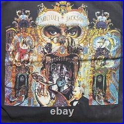 Vintage Michael Jackson Dangerous WorldTour 1992 Very Rare Bootleg Single Stitch