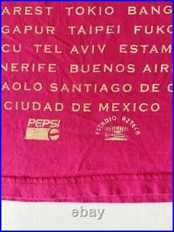 Vintage Michael Jackson Dangerous World Tour 1992 Very Rare Bootleg Mexico City
