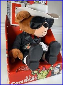 Vintage Rare 1987 Michael Jackson Michaels Pets Cool Bear with Cassette Tape