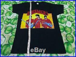 Vintage Rare 1990 Prince Screen Stars 2 Sided T Shirt L Michael Jackson Pop Rock