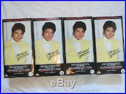 Vintage Rare Ljn 1984 Michael Jackson 12 Doll Set Of 4. Nib