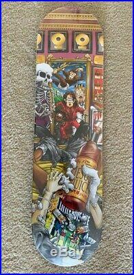 Vintage Rare Michael Jackson King of Pills World Industries NOS skateboard