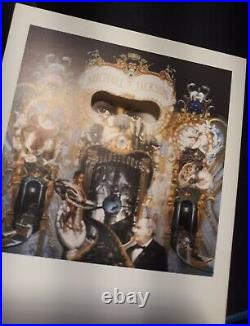 Vip Only Ultra Rare Original Invitation Card Michael Jackson Dangerous Event