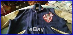 Warner Brothers Vintage College Jacket Bugs Bunny Rare Michael Jackson Delong XL