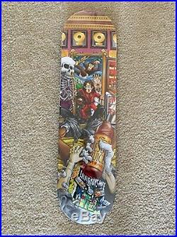 World Industries King of Pills Michael Jackson Skateboard Deck RARE EXCLUSIV